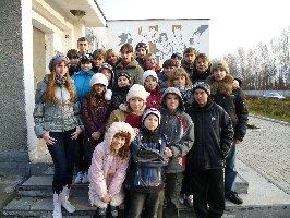 Ребята из санатория Горняцкий. Музей-заповедник Большой Дуб, 8.11.2010 г. (2)
