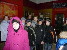 Обучающиеся школы № 5 г.Курчатова. 9.11.2010 г.