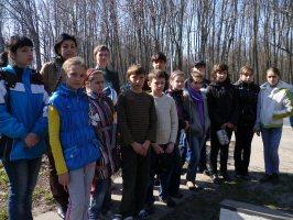 Экскурсия школьников из г.Курска, 23.04.2011 г.