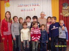 Урок мира в Железногорском межрайонном центре социальной помощи семье и детям. 3.09.2010 г.