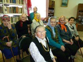 Час музея в Железногорском доме-интернате ветеранов войны и труда, 30.12.2010 г.